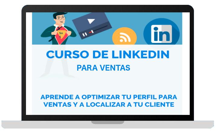 Curso de LinkedIn para ventas lecciones